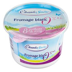 CHANTESAIRE Fromage blanc 0% MG  800G