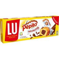 PEPITO Chocolait'o gâteaux moelleux fourrée au chocolat 5 gâteaux 180g