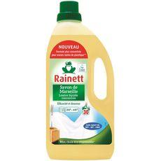 RAINETT Lessive liquide concentrée au savon de Marseille 30 lavages 1.5l