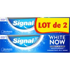 SIGNAL White Now Dentifrice blancheur  2X75ml