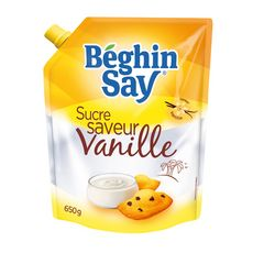 BEGHIN SAY Sucre aromatisé vanille 650g