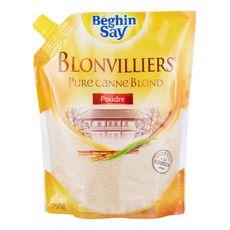 BEGHIN SAY Blonvilliers sucre pure canne blond en poudre 750g