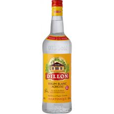 DILLON Rhum blanc agricole Martinique 55% 1l