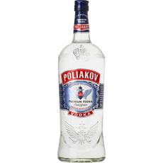 POLIAKOV Vodka pure grain 37,5% 1,5l