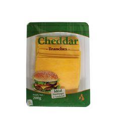 Cheddar en tranches idéal hamburger et sandwich  200g