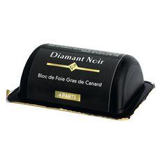 DIAMANT NOIR Bloc de foie gras de canard 4 parts 160g