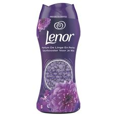 LENOR Parfum de linge en perles bouquet d'améthyste et fleurs 210g