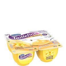 TAILLEFINE Taillefine Crème dessert allégé vanille 0,9% MG  4x120g 4x120g 4x120g
