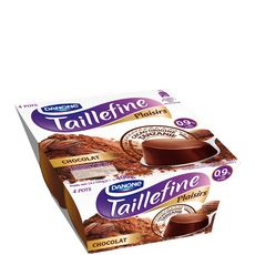 TAILLEFINE Taillefine plaisirs fondant allégé chocolat 4x100g