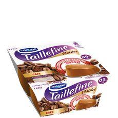 TAILLEFINE Taillefine plaisirs fondant allégé café 4x100g