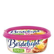 BRIDELIGHT Matière grasse laitière demi-sel 15%MG 250g