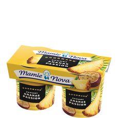 Mamie Nova gourmand ananas passion 2x150g