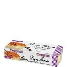 Bonne Maman crème brûlée 2x100g