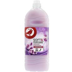AUCHAN Soft & Perfume adoucissant concentré fleur de lavande  80 lavages 2l