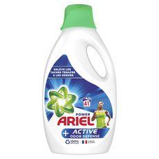 ARIEL Lessive liquide plus active contre les odeurs 41 lavages 2,255l