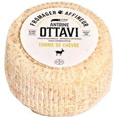 ANTOINE OTTAVI Fromage Tomme de chèvre au lait entier de chèvre  400g