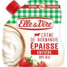 Elle & Vire ELLE & VIRE Crème fraîche épaisse entière 30%MG