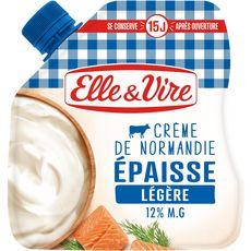 Elle & Vire ELLE & VIRE Crème fraîche épaisse légère 12%MG