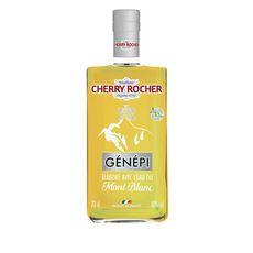 CHERRY ROCHER Génépi élaboré avec l'eau du Mont Blanc 40% 70cl
