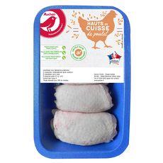 AUCHAN Hauts de cuisse de poulet fermier 600g