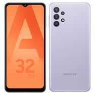 SAMSUNG Smartphone Galaxy A32  5G  128 Go  6.5 pouces Lavande Double NanoSim