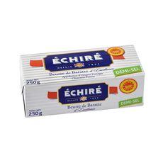 ÉCHIRÉ Beurre demi-sel de baratte AOP 250g