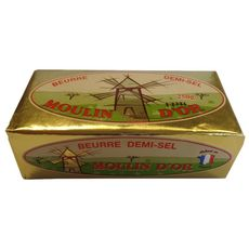 MOULIN D'OR Beurre demi-sel 250g