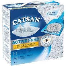 CATSAN Active fresh litière minérale agglomérante pour chat 5l