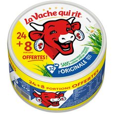 LA VACHE QUI RIT Fromage fondu en portion 32 portions  535g
