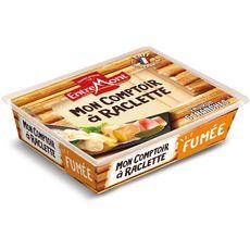ENTREMONT Mon Comptoir à Raclette Fromage à pâte pressée fumée 6 tranches environ 140g