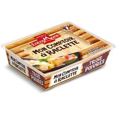 ENTREMONT Mon Comptoir à Raclette Fromage à pâte pressée aux trois poivres 140g