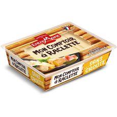 ENTREMONT Mon Comptoir à Raclette Fromage à pâte pressée sans croute 6 tranches environ 140g