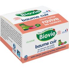 BIOVIE Baume soin cuir nourrissant au beurre de karité et cire de Carnauba 60g