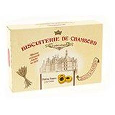 BISCUITERIE DE CHAMBORD Biscuits petits fours cerise confite Amaréna boîte carton 300g