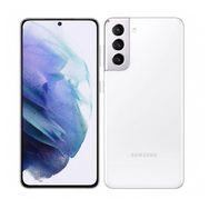 SAMSUNG Smartphone Galaxy S21  5G  128 Go  6.2 pouces  Blanc  Double port Sim + e-sim