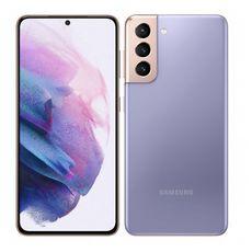 SAMSUNG Smartphone Galaxy S21  5G  128 Go  6.2 pouces  Violet  Double port Sim + e-sim