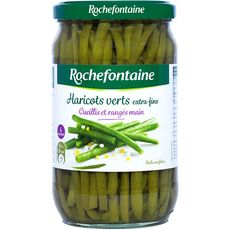 ROCHEFONTAINE Haricots verts extra-fins bocal 345g