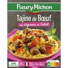FLEURY MICHON Tajine de bœuf aux légumes du soleil 1 portion 350g