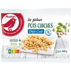 AUCHAN Pois chiche minute 3-4 portions 600g