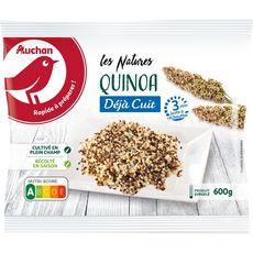 AUCHAN Quinoa déjà cuit 3-4 portions 600g