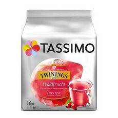 TASSIMO Capsules de thé Twinings fruits de la forêt 16 capsules 45g