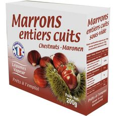 ALLAIRE Marrons entiers cuits 200g