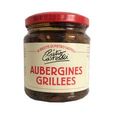 CASTELLI Aubergines grillées  280g