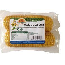 Epis de maïs doux cuit 2 pièces 400g