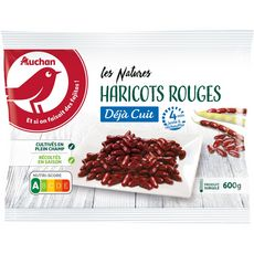 AUCHAN Haricots rouges minute 3-4 portions 600g