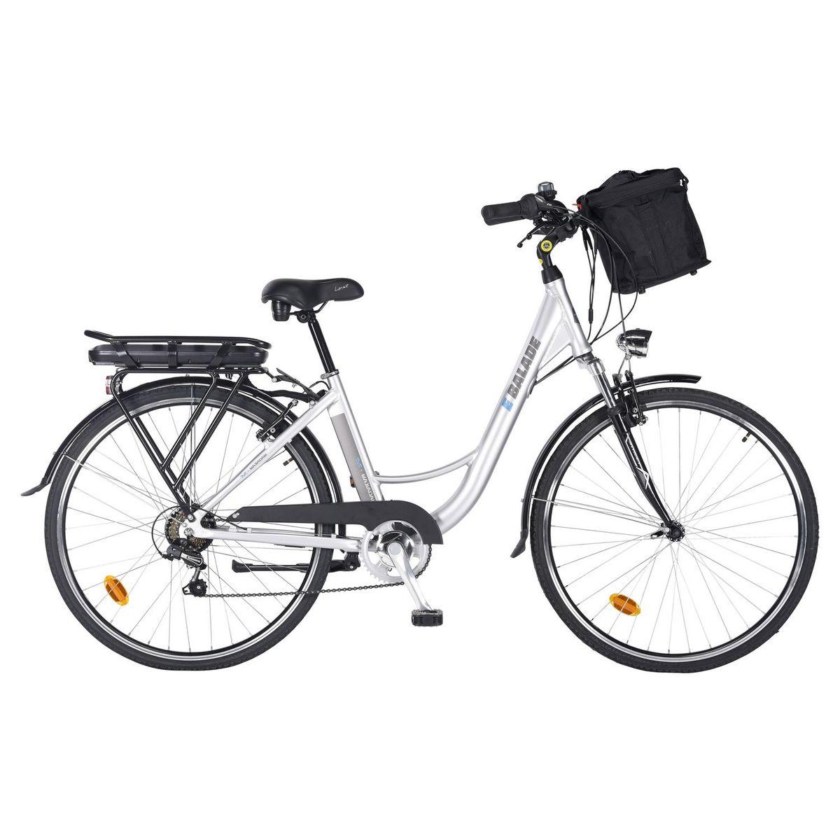 Vélo à assistance électrique - E-Balade - Argent