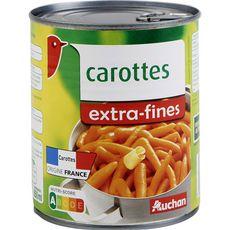 AUCHAN Carottes extra fines 530g