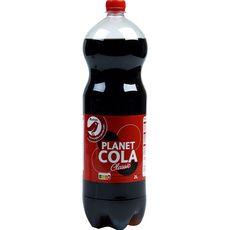 AUCHAN Planet cola boisson gazeuse classic aux extraits végétaux 2l