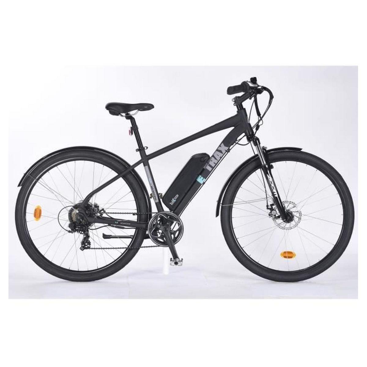 Vélo à assistance électrique - E-Trax - Noir