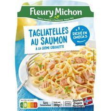 FLEURY MICHON Tagliatelles au saumon crème ciboulette 1 portion 280g
